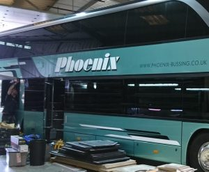 tinting bus / coach windows
